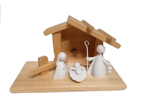 PRESEPE IN LEGNO MADE IN ITALY EUROMARCHI
