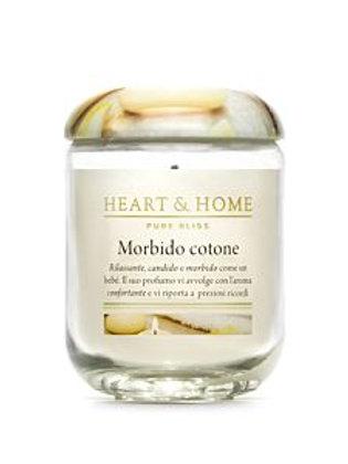 HEART & HOME MORBIDO COTONE