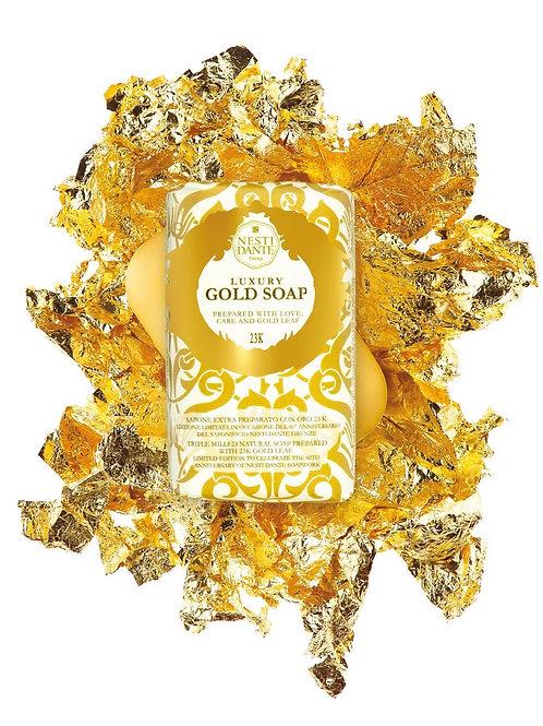 "SAPONE VEGETALE NATURALE "" GOLD SOAP"" - NESTI DANTE - 250 G"