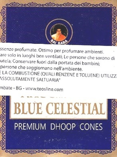 CONI AROMATICI NAGCHAMPA BLUE CELESTIAL  - 12 CONI