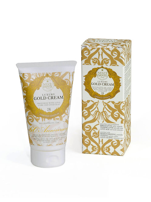"CREMA CORPO E VISO ""LUXURY GOLD"" - NESTI DANTE - 150 ML"