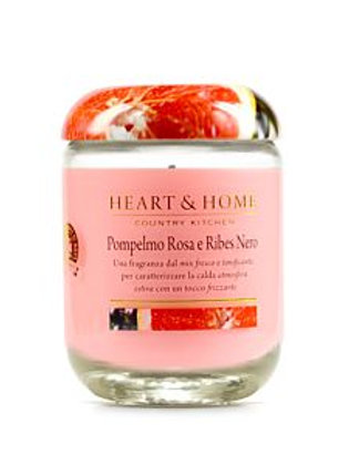 HEART & HOME POMPELMO ROSA E RIBES NERO