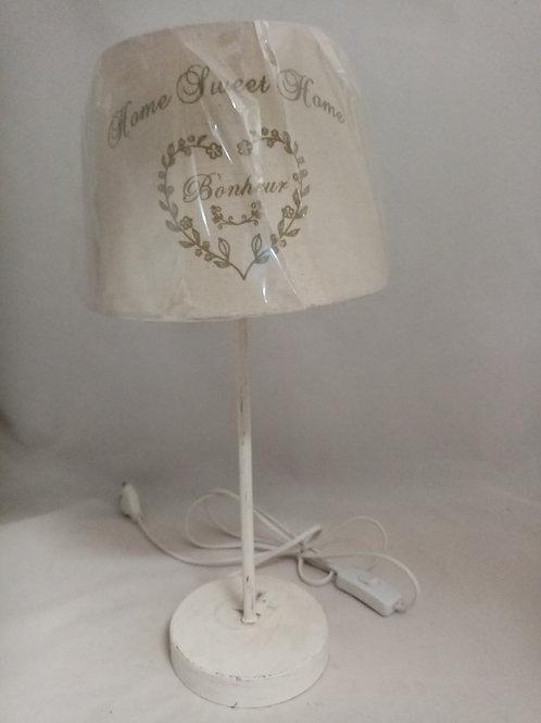LAMPADA IN TESSUTO E METALLO