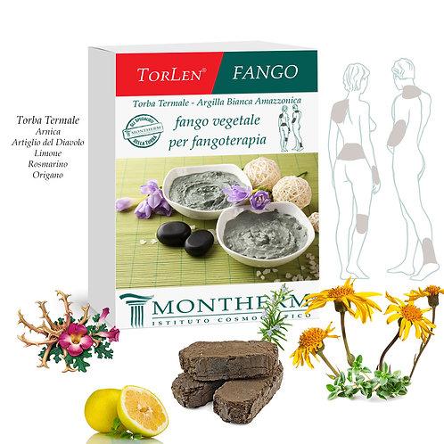 FANGO VEGETALE PER FANGOTERAPIA TORLEN - MONTHERM 600 G