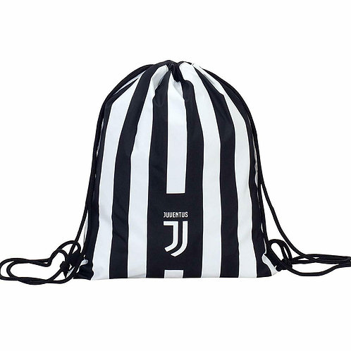 """SACCA IN POLIESTERE """"EASY BAG"""" JUVENTUS UFFICIALE"""