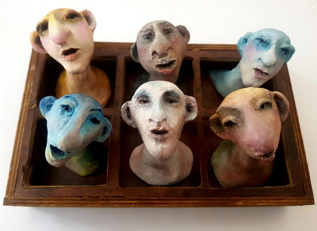 Dyane KAZSA - Sculptures