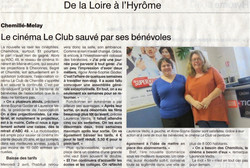 Ouest France  - 29 mars 2014
