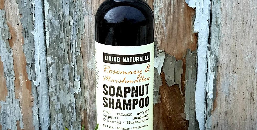 Soapnut Shampoo - Rosemary & Marshmallow, 200ml