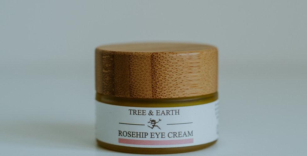Rosehip Eye Cream - Økologisk Øjencreme, 15ml