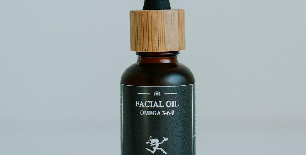 Økologisk Ansigtsolie - Omega 3-6-9 Boost, 30ml