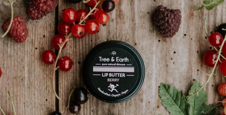 Lip Butter Berry - Økologisk Læbepomade, 15ml