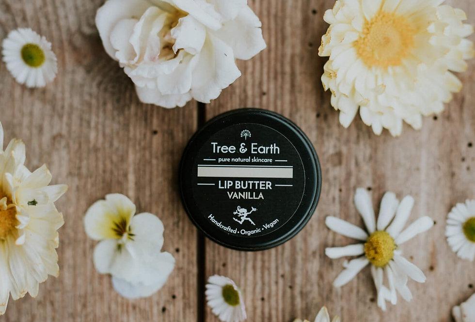 Lip Butter Vanilla - Økologisk Læbepomade, 15ml