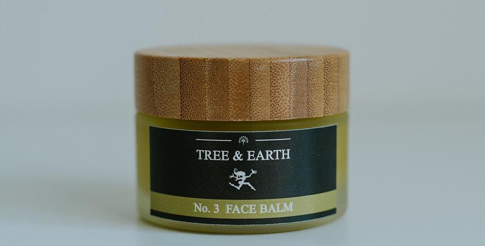 No.3 Face Balm - Økologisk Ansigtscreme, 50ml
