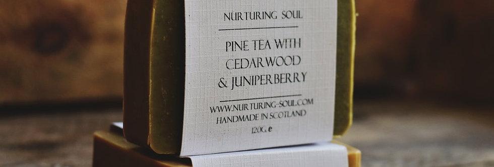 Pine Tea with Cedarwood & Juniperberry Soap 120g