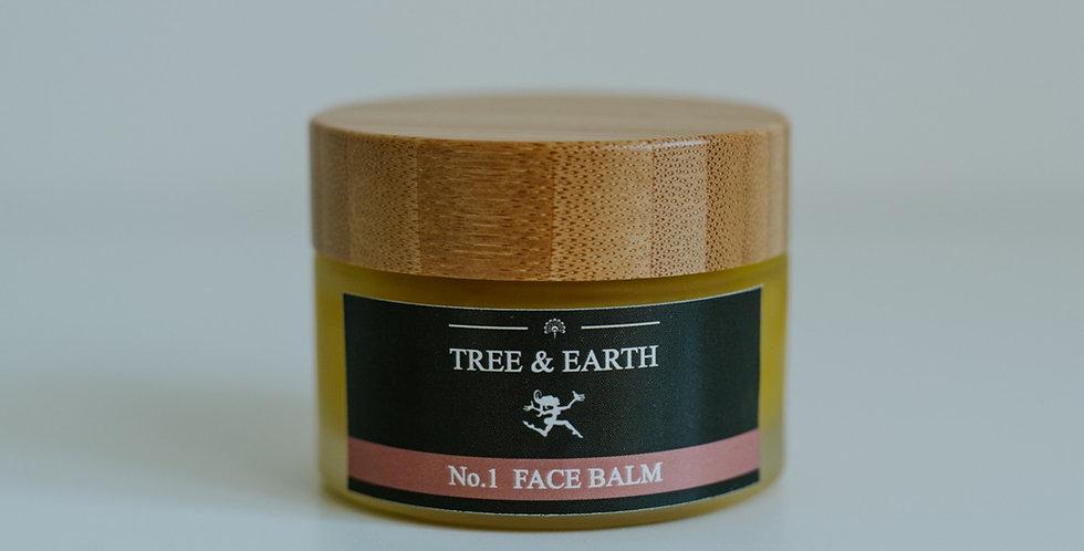 No.1 Face Balm - Økologisk Ansigtscreme, 50ml