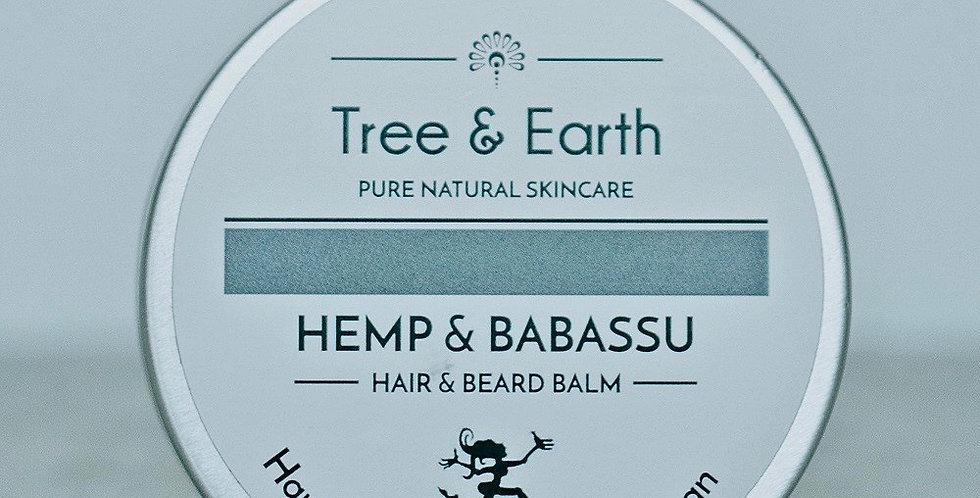 Hemp & Babassu Hair & Beard Balm 60ml