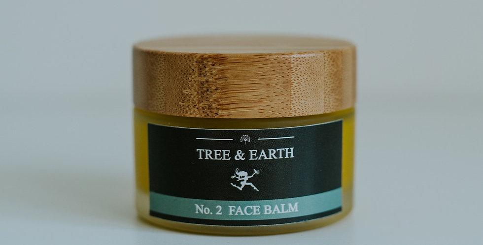 No.2 Face Balm - Økologisk Ansigtscreme, 50ml