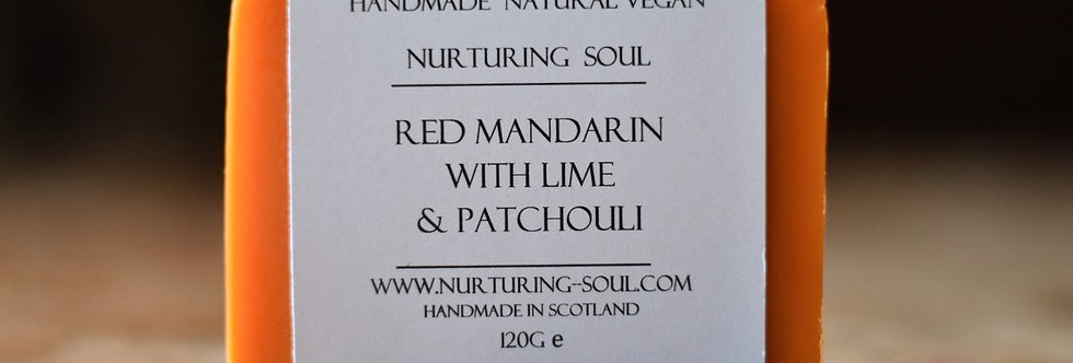 Red Mandarin with Lime & Patchouli 120g