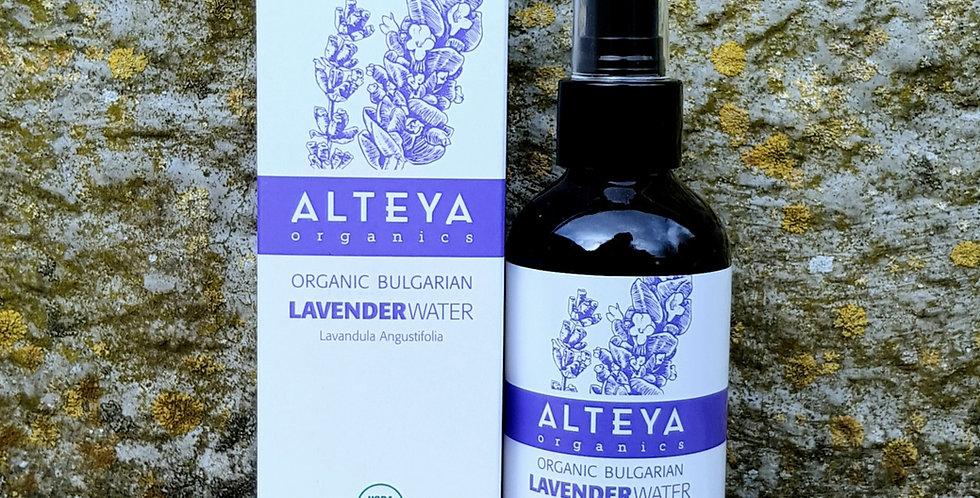 Alteya Organics Lavendelvand, 120ml