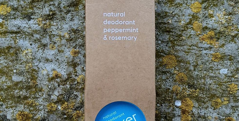 Lekker Cream Deodorant -Peppermint & Rosemary, 30ml