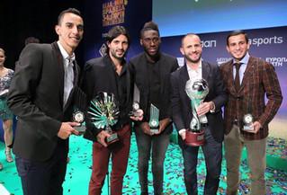 Συμβαίνει τώρα: Η ομάδα του ΠΟΚ βραβεύεται απο τον ΠΣΑΠ για την κατάκτηση του Champions League.