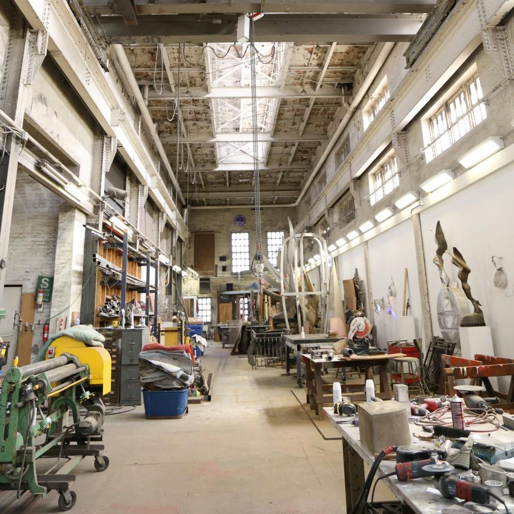 Sedgwick Studio Interior
