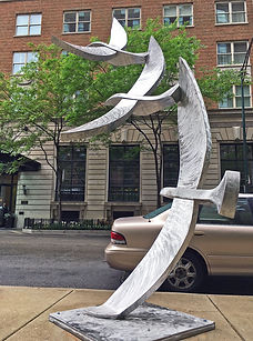 Michael Young sculpture, Birds of a Feather