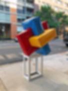 Sunny Han, Crystal Effect III sculpture