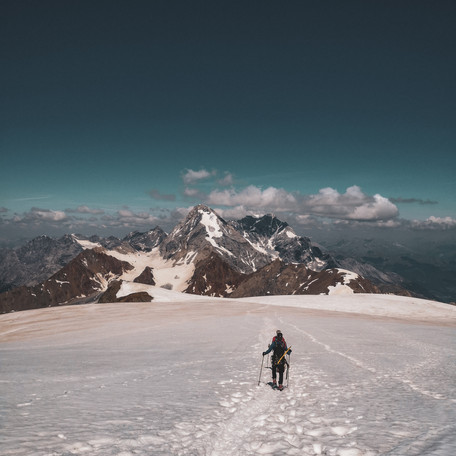 Überschreitung Monte Cevedale und Zufallspitze (Ostgrat)