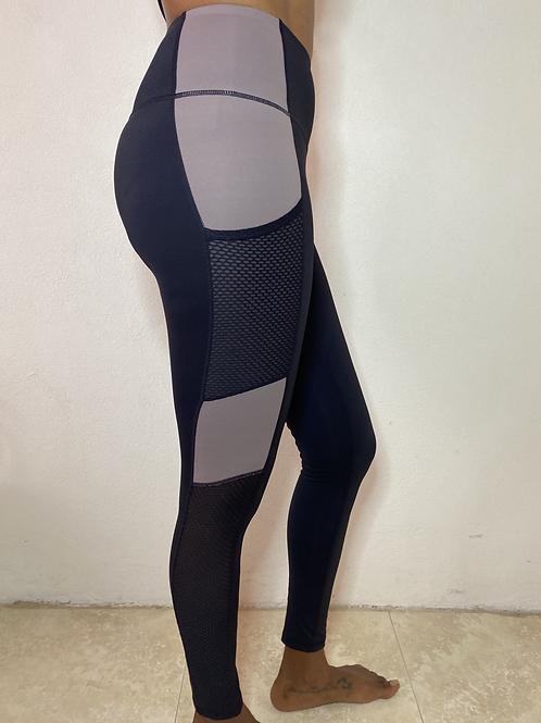 Demi Yoga Fit Highwaist Colour Block Leggings