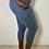Thumbnail: Demi Yoga Fit Plus Size Ribbed Mesh Leggings