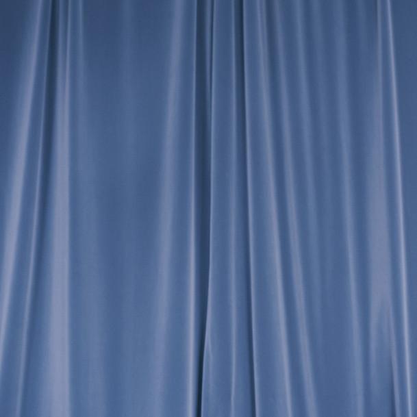 Brooklyn blue curtain