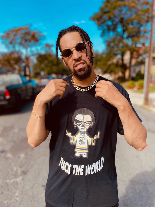 Grizzy Hendrix - Black/White F***K 2020 - T-Shirt