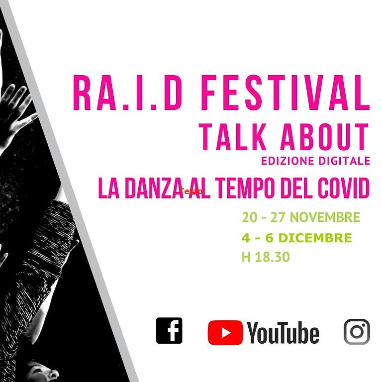 Ra.I.D. Festival Talk About edizione digitale