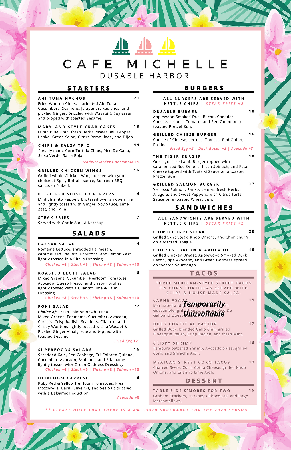 Cafe Michelle Food Menu.png
