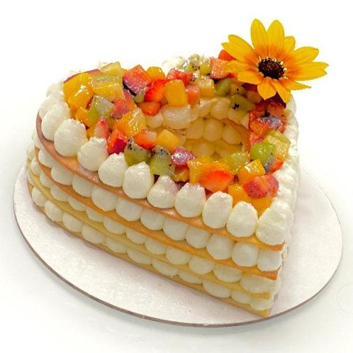 עוגת שכבות בצק פריך