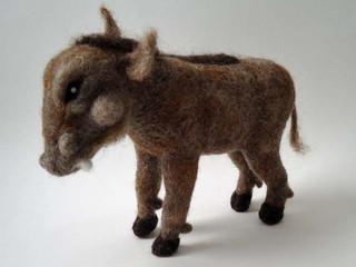 Felted Warthog