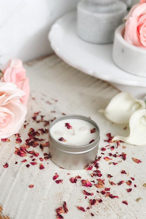 Rose Quartz   Rose Petals 6oz