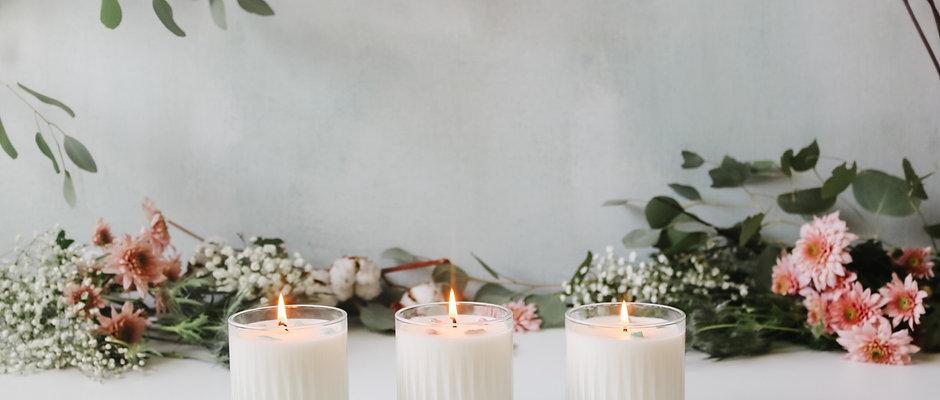 Spring Candle Trio