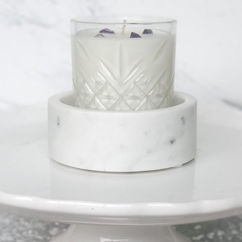 Marble Candle Coaster