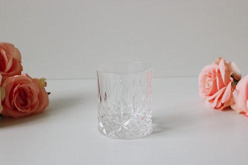 10oz Genevieve Crystal Glass | Single Wick