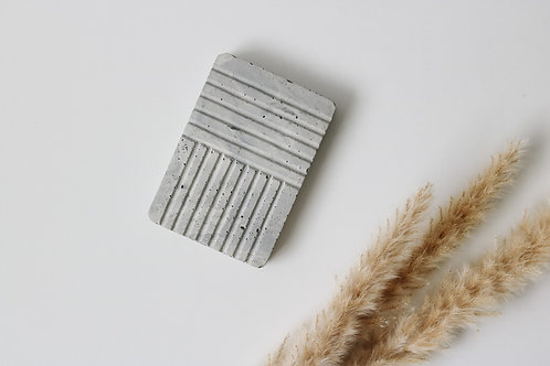 Grey Marble Concrete Soap Tray