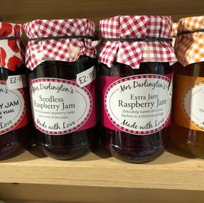 Mrs Darlington's  jams
