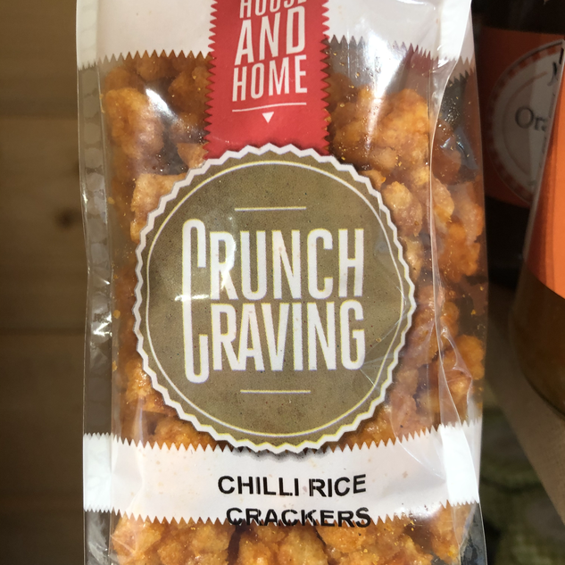 Crunch Craving Chilli Rice Crackers