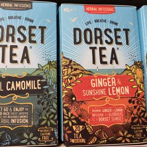 Dorset tea - herbal range