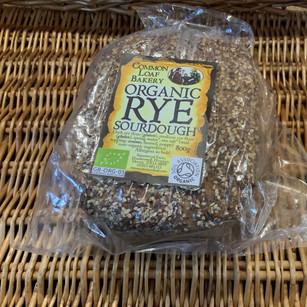 Organic rye sourdough £4.50