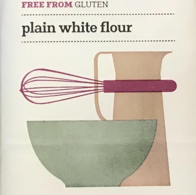 Gluten free plain white flour
