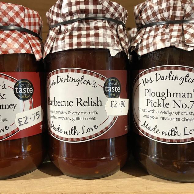 Mrs Darlington's relishes & pickles