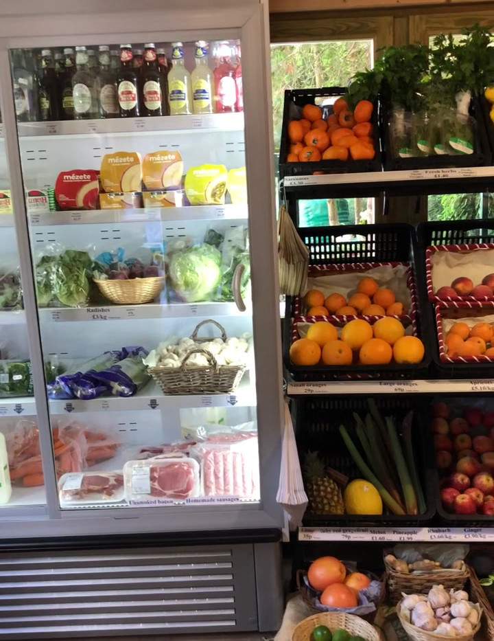 Inside the Farm Shop August 2020
