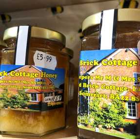 Local Honey - small or large jars (runny or set)